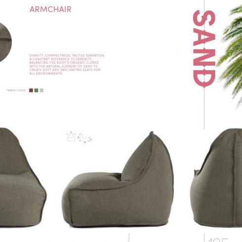 sand fotelj
